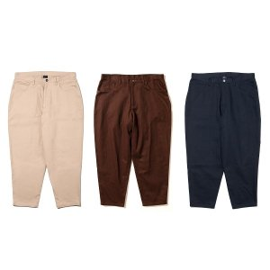 【APPLEBUM】LOOSE COLOR TAPERED PANTS