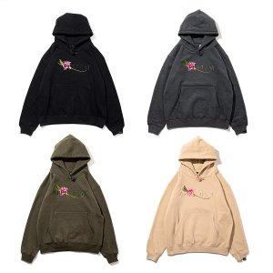 "【APPLEBUM】""FLOWER LOGO"" SWEAT PARKA"