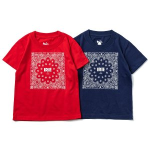 【IRIE by irielife】IRIE PAISLEY KIDS TEE<img class='new_mark_img2' src='https://img.shop-pro.jp/img/new/icons5.gif' style='border:none;display:inline;margin:0px;padding:0px;width:auto;' />