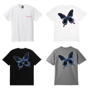 【ANDSUNS】BUTTERFLY EFFECT SS TEE <img class='new_mark_img2' src='https://img.shop-pro.jp/img/new/icons5.gif' style='border:none;display:inline;margin:0px;padding:0px;width:auto;' />