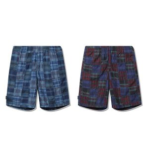 【Back Channel】PATCH WORK EASY SHORTS