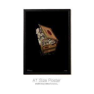 "【APPLEBUM】""CASH CIGARBOX $"" A1 POSTER"