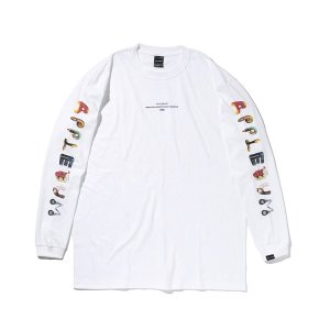 """【APPLEBUM】""""ALPHABET(MAMI'S FONT)"""" L/S T-SHIRT<img class='new_mark_img2' src='https://img.shop-pro.jp/img/new/icons5.gif' style='border:none;display:inline;margin:0px;padding:0px;width:auto;' />"""