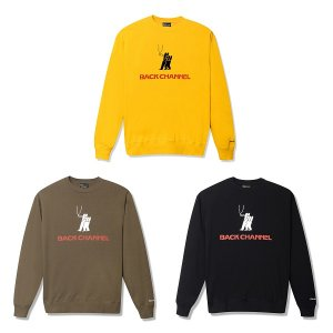 【Back Channel】LIGHT CREW SWEAT<img class='new_mark_img2' src='https://img.shop-pro.jp/img/new/icons5.gif' style='border:none;display:inline;margin:0px;padding:0px;width:auto;' />