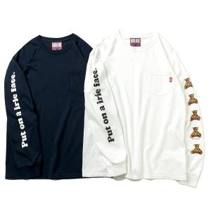 【IRIE by irielife】IRIE BEAR POCKET L/S TEE<img class='new_mark_img2' src='https://img.shop-pro.jp/img/new/icons5.gif' style='border:none;display:inline;margin:0px;padding:0px;width:auto;' />