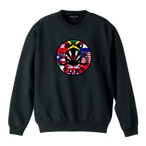 【ANDSUNS】NATIONAL SUNS CREWNECK<img class='new_mark_img2' src='https://img.shop-pro.jp/img/new/icons5.gif' style='border:none;display:inline;margin:0px;padding:0px;width:auto;' />