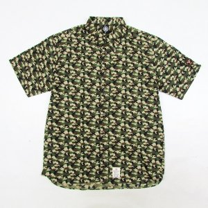 【ANDSUNS】CAMOUFLAGE WOVEN / LAST XL