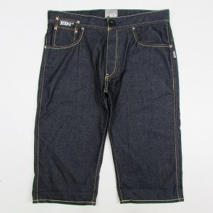 【(5O)DUPPIES】FAKE DENIM 3/4 WATER PANTS / LAST L