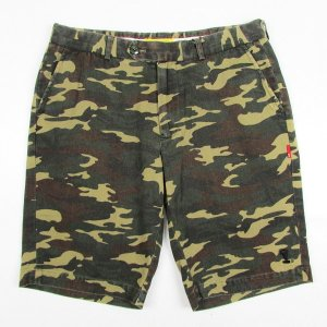 【SPECIAL ONE】ORIGINAL CAMOUFLAGE TROUSERS SHORTS / LAST M