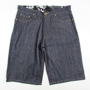 【NINE RULAZ】NINE RULAZ DENIM SHORTS / LAST XL
