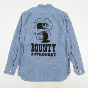 "【M.V.P.】× BOUNTY HUNTER ""CHAMBRAY SHIRT ASTRONAUT"" / LAST M"