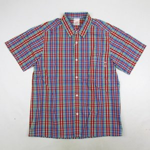 【MASTERPIECE】CHECK SHORT SLEEVE SHIRT / LAST L