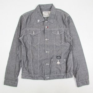 【(5O)DUPPIES】DUNGAREE JACKET / LAST XL