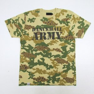 "【NINE RULAZ】×REAL MAD HECTIC ""DANCEHALL ARMY TEE"" / LAST L"