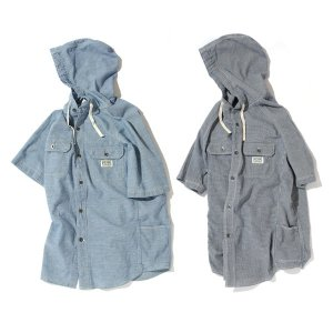 【Back Channel】HOODED H/S SHIRT / LAST GINGHAM