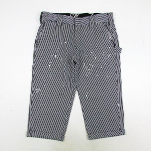 【NINE RULAZ】HICKORY CROPPED PANTS / LAST XL(34)