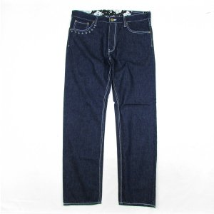 【NINE RULAZ】REFLECTOR DENIM / LAST XL(34)