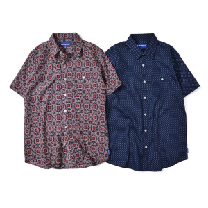 【Lafayette】S/S PATTERNED SHIRT 50%OFF / LAST DOT S