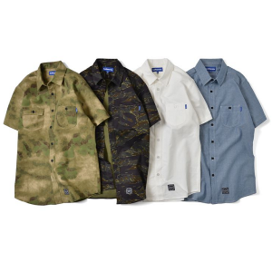【Lafayette】S/S BASIC CAMP SHIRT 50%OFF / LAST A-TACS S