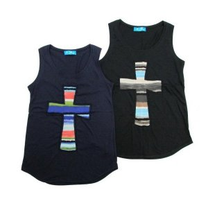 【IRIE BERRY】CROSS TANK / LAST NAVY