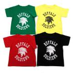 【MURAL】BUFFALO SOLDIERS T-SHIRTS / KID'S / LAST RED 80