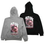 【NINE RULAZ】STILL SMOKE ZIP UP HOODIE
