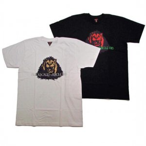【VINYL JUNKIE】BLACKBOARD JUNGLE TEE / LAST WHITE XL