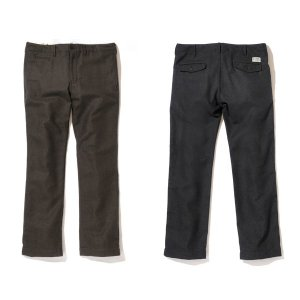 【Back Channel】WOOL PANTS / LAST BROWN L
