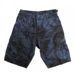 【HARD HIT】TIE DYE SHORTS 50%OFF / LAST NAVY M