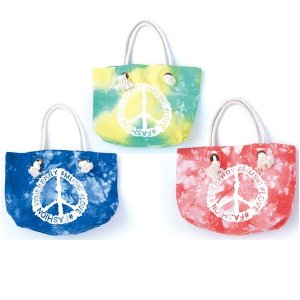 【IRIE BERRY】TIE DYE ROPE BAG / LAST GREEN