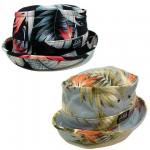 【DUPPIES】TROPICAL PORKPIE HAT / LAST BLUE M