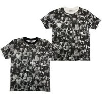 【SPECIAL 1】SMOKE FULL PRINT S/S T-SHIRTS / LAST WHITE XL