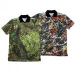 【DUPPIES】CAMOUFLAGE POLO / LAST SWAMP CAMO M