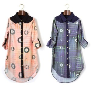 【IRIE BERRY】VINYL CHECK SHIRT OP
