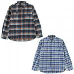 【Predawn】FLANNEL SHIRT / LAST BROWN M
