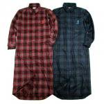 【B.A.D. from ANDSUNS】CYCLONE SHIRT / LAST GRAYxRED