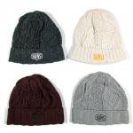 【ANDSUNS】DOUBLE BEENIE / LAST BLACK