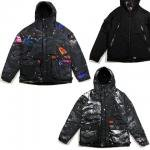 【DUPPIES】GALAXY REVERSIBLE COTTONPATTED HOOD JACKET