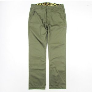 【ANDSUNS】ELECTROCUTED CHINO / LAST OLIVE M