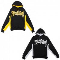 【SPECIAL 1】REVOLUTION SIDE PANNEL PARKA / LAST BLACK×GOLD L
