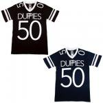 【DUPPIES】FOOTBALL V NECK CUTSAW