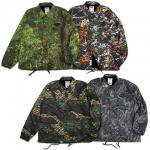【DUPPIES】CAMOUFLAGE COACH JACKET / LAST SRGV CAMO