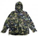 【DUPPIES】SATELLITE CAMO MOUNTAIN HOODIE JACKET / LAST M