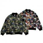 【DUPPIES】LIGHT STADIUM FIELD JACKET / LAST SATELLITE CAMO  L