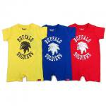 【MURAL】BUFFALO SOLDIERS ROMPERS / BABY / LAST RED 80