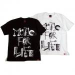 【MURAL】MUSIC FOR LIFE T-SHIRT / LAST BLACK L