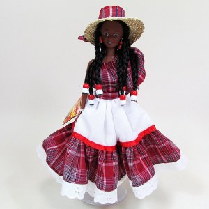 【Jamaica Goods】Jamaican Fashion Doll / YaRDie DOLL(A)