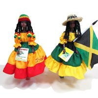【Jamaica Goods】Jamaican Fashion Doll / Island Doll(A)