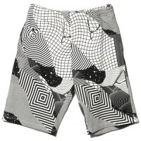 【Back Channel】FELIPE PANTONE FULL PRINT SWEAT SHORTS / LAST M
