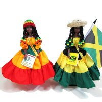 【Jamaica Goods】Jamaican Fashion Doll / Island Doll(B)